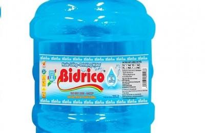 Nước khoáng Bidrico đóng bình 20l