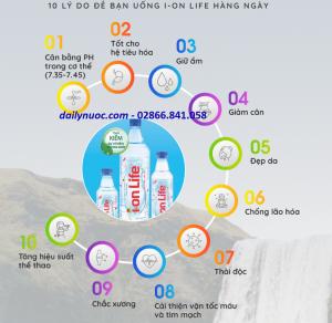 10 Lý do uống nước Ion Life mỗi ngày