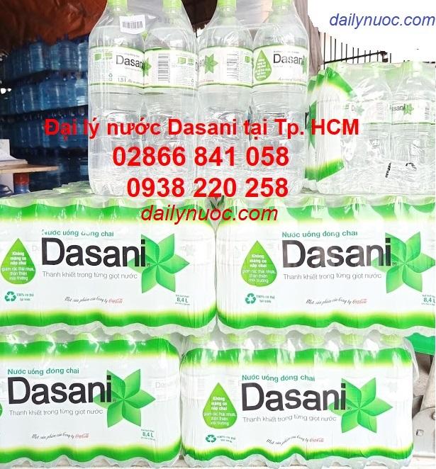 Nước suối đóng chai dasani được nhiều người lựa chọn nhất