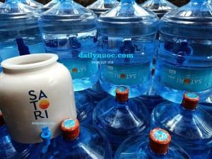 Tặng bình nước uống bằng sứ có vòi